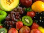 Gekleurde vruchten en kurkuma bevatten 'pijnstillers'